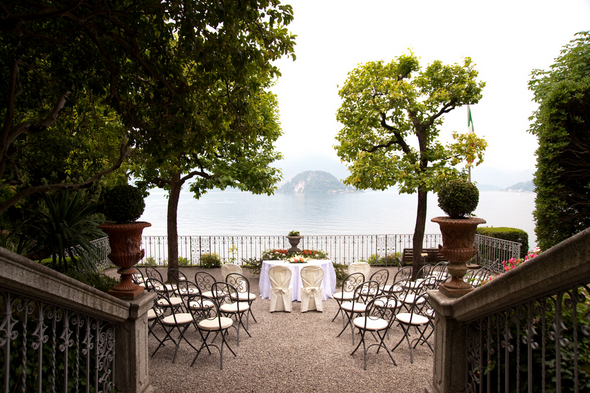 Outdoor Ceremony Lake Como