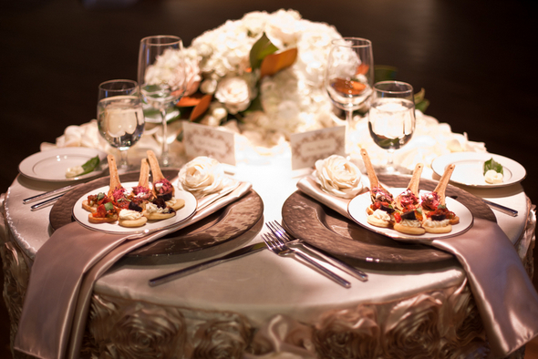 Reception Bridal Table for Two