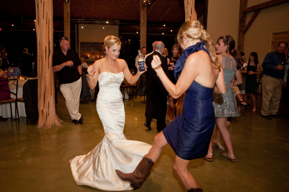 Rustic Glam Wedding Dance Floor