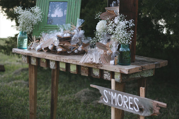 S'Mores Bar for Wedding