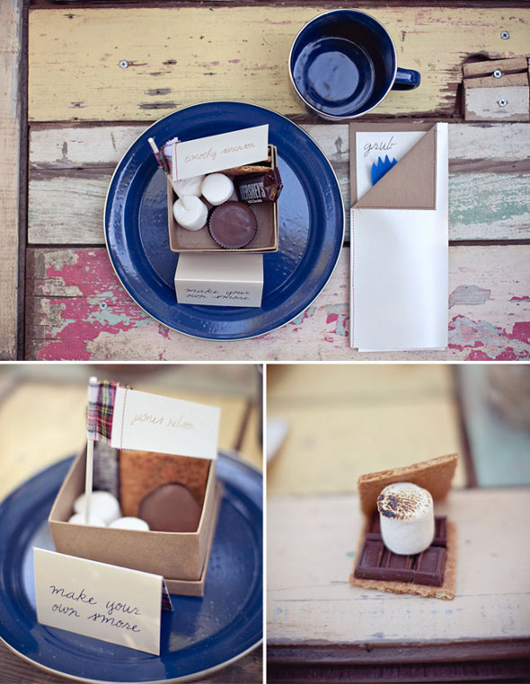 S'Mores Wedding Favors Ideas