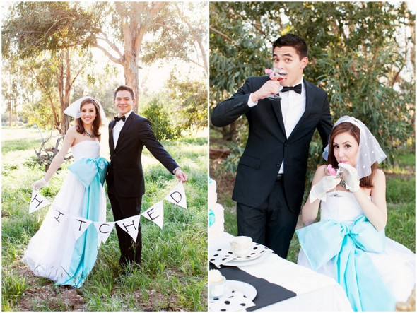 Tea Party Style Wedding