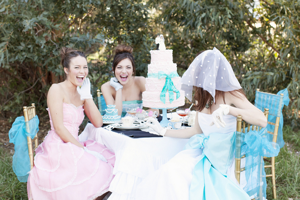 Tea Party Wedding Theme Ideas