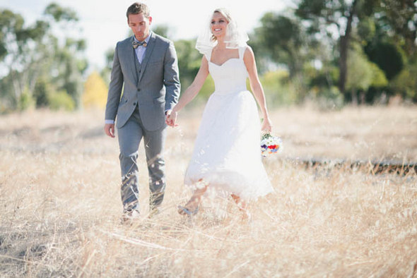 Vintage Country Australian Wedding