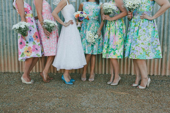 Vintage Country Bridesmaids