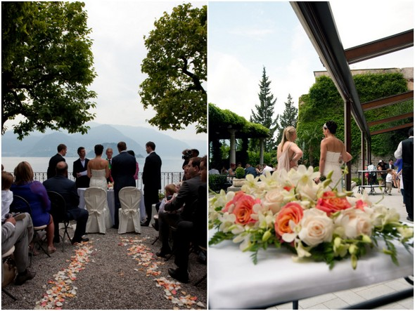 Wedding Ceremony Overlooking Lake Como