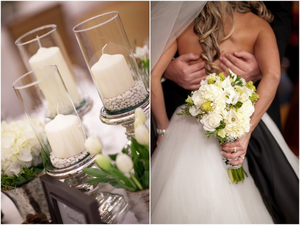 winter wedding ideas Winter Double Wedding for Twin Sisters