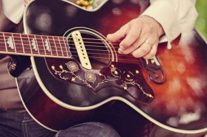 Acoustic Guitar at Wedding