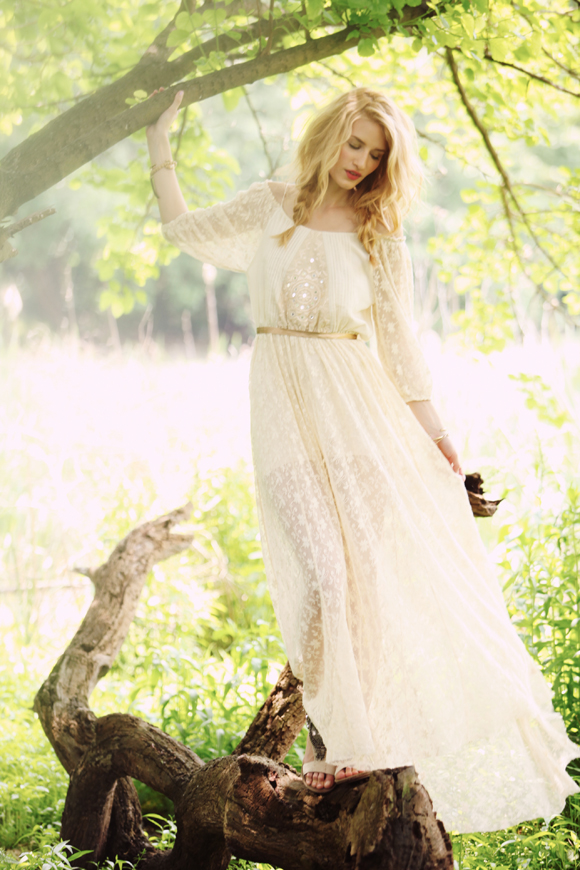 bohemian maxi dress Hippie Bohemian Wedding Dresses for a Romantic Summer