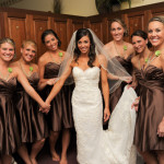 Chocolate Brown Bridesmaids