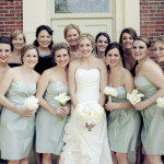 Classic Romantic Bridesmaids