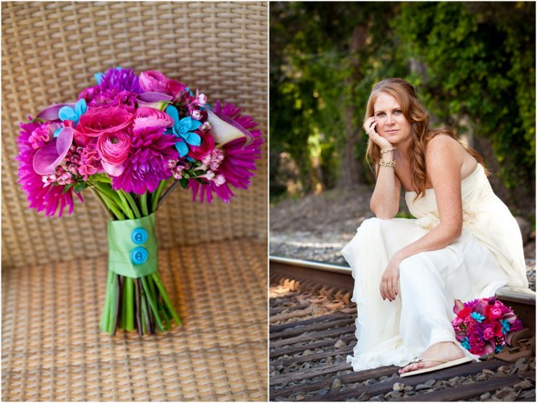 colourful bridal bouquet Colourful Zoo Wedding by Jihan Abdalla Photography