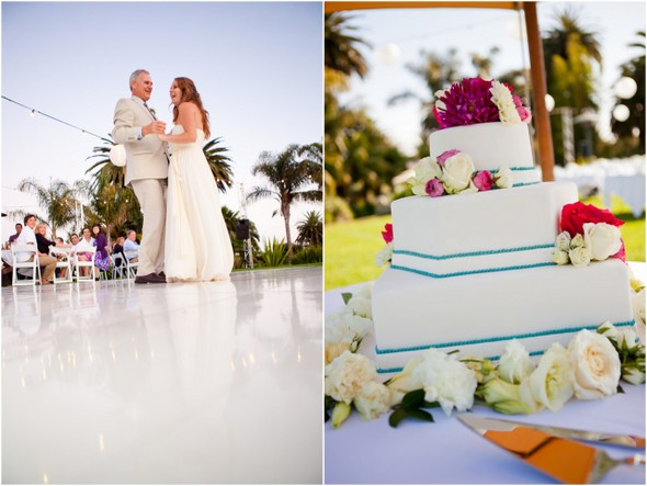 colourful wedding cake Colourful Zoo Wedding by Jihan Abdalla Photography