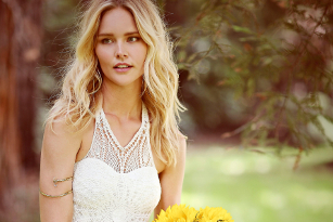 Hippie Bohemian Wedding Dresses for a Romantic Summer