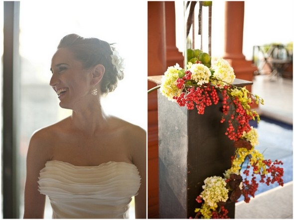 eco friendly floral decorations Eco Friendly Costa Rica Wedding by Comfort Studio