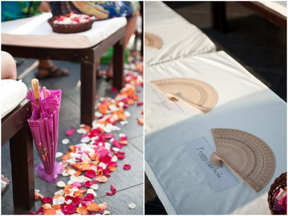Eco Friendly Wedding Ceremony Decor