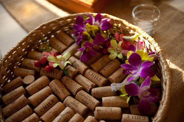 Eco Friendly Wedding Details