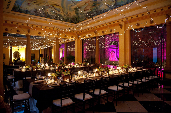 Eco Friendly Wedding Reception