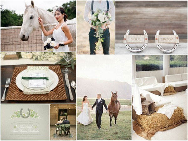 horse wedding theme Elegant Horse Wedding Theme