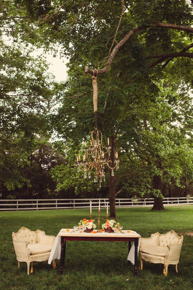 Intimate Vintage Country Wedding