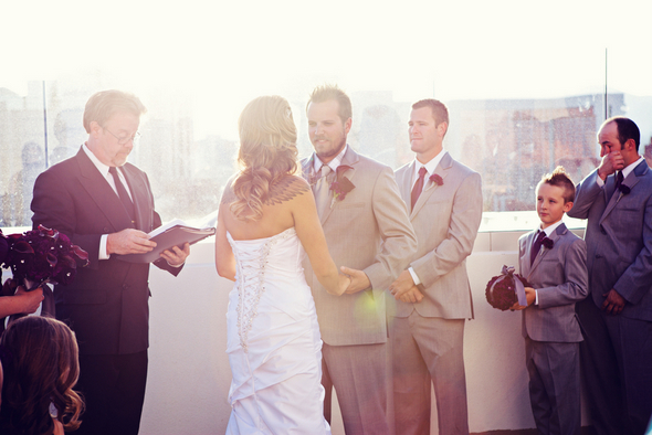 Las Vegas Rooftop Wedding