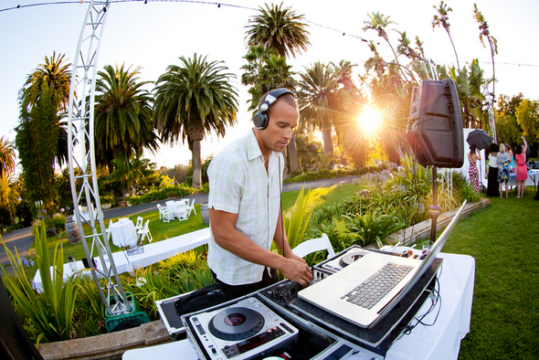 Outdoor Wedding DJ