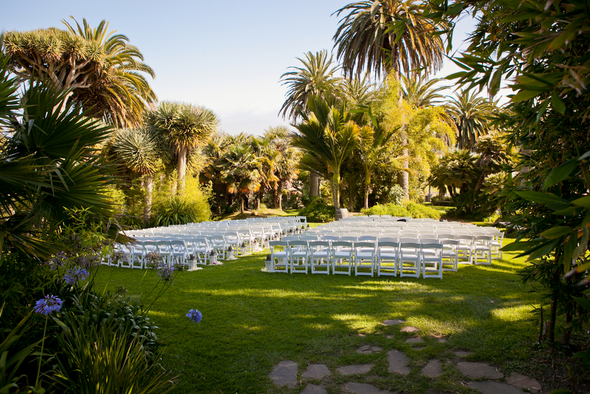 Outdoor Wedding Santa Barbara Zoo