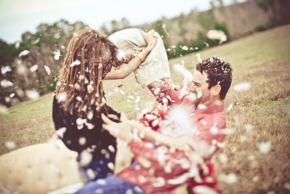 Pillow Fight Engagement Session