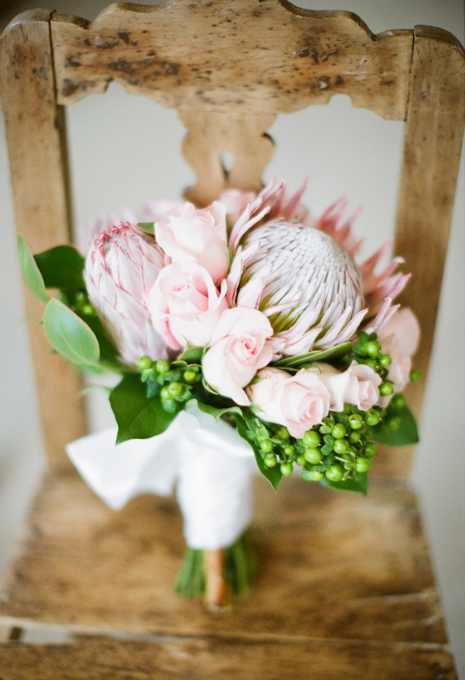 protea wedding bouquet {Bouquet Inspiration} Protea Wedding Bouquet