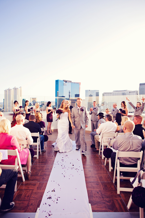 Rooftop Wedding Ceremony Las Vegas