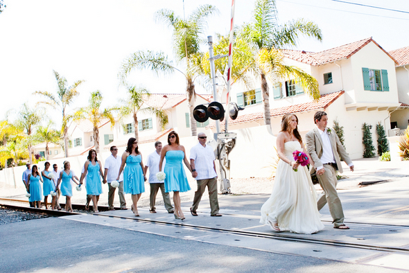 santa barbara colorful wedding Colourful Zoo Wedding by Jihan Abdalla Photography