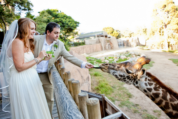 santa barbara zoo wedding Colourful Zoo Wedding by Jihan Abdalla Photography