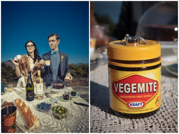 Vegemite Wedding Ideas