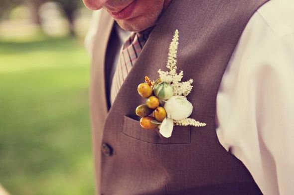 Vintage Country Boutonniere