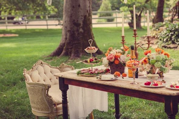 Vintage Country Wedding Table
