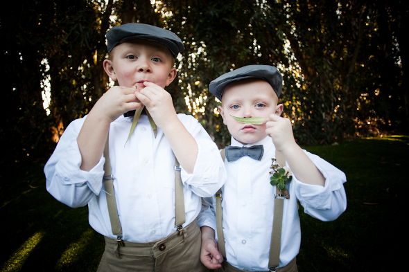 vintage page boys Vintage DIY Wedding by Studio Vérité Photography