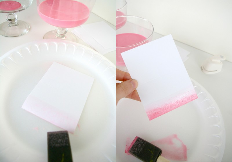 Desktop138 DIY Ombre Place cards