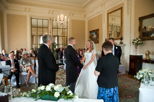 Wedding Ceremony in English Mansion