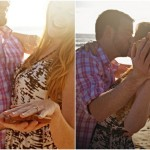 San Diego Beach Engagement Session with Peanut Butter & Jelly!