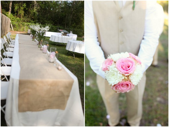 Casual Backyard Wedding Details