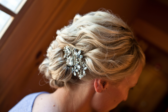 Diamente Bridal Hair Clip