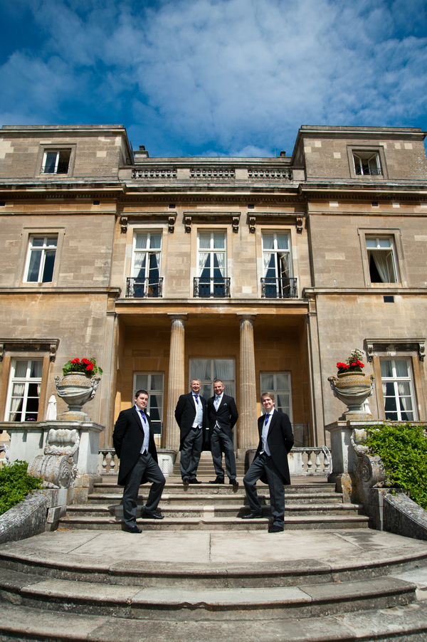 English Summer Wedding Groomsmen