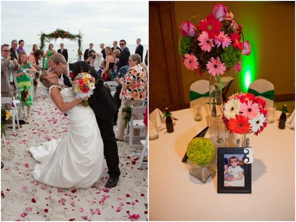 Gerbera Daisy Themed Wedding
