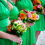 gerbera-themed-beach-wedding