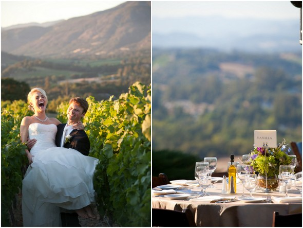 napa valley tablescape ideas Napa Valley Private Estate Wedding by Luke Snyder Studio