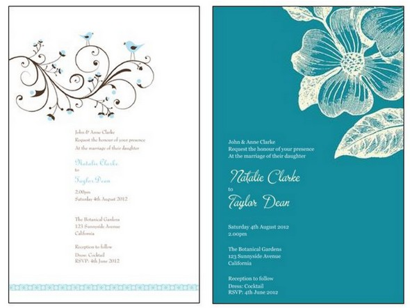 How To Design Wedding Invitations A Discount