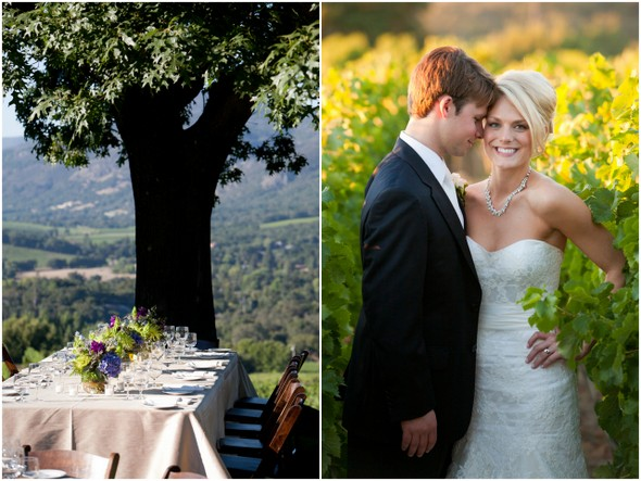 outdoor wedding ideas napa valley Napa Valley Private Estate Wedding by Luke Snyder Studio