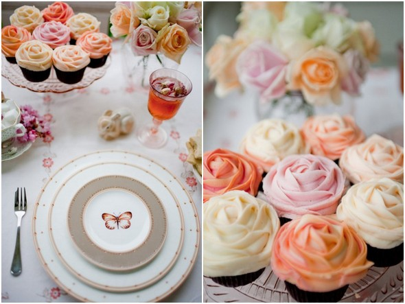 Petal Cupcakes for Weddings