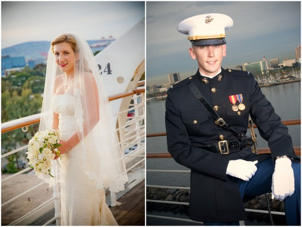Queen Mary Ship Wedding