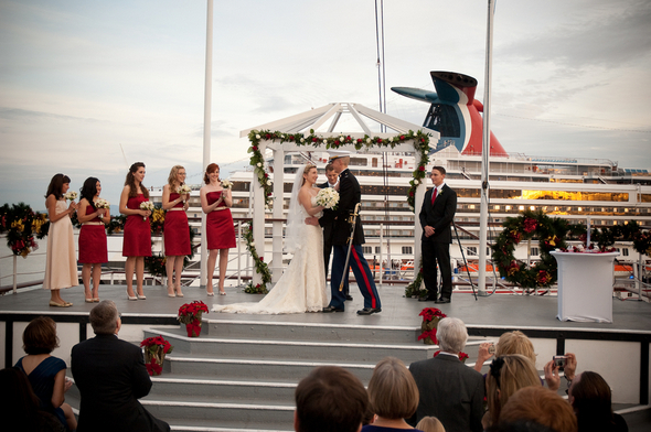 Queen Mary Wedding Photos